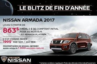 Nissan Armada 2017 en rabais!
