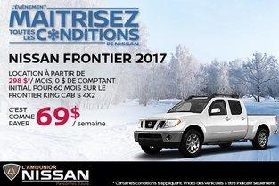 Nissan Frontier 2017 en location