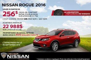 Nissan Rogue 2016 en location
