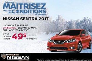 Nissan Sentra 2017 en location