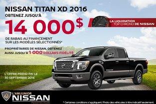 Nissan Titan XD 2016 en rabais