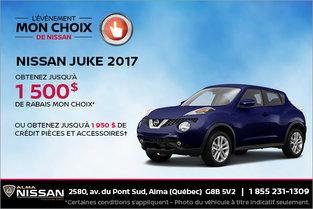 Nissan Juke 2017 en rabais