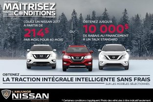 L'événement maitrisez toutes les conditions de Nissan