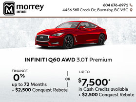 Amazing Savings on the 2017 Q60!