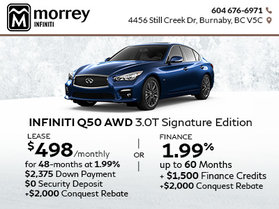 2018 Q50 Signature Edition