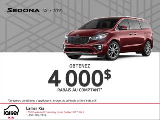 La Kia Sedona 2019