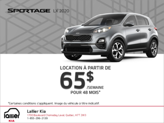 La Kia Sportage 2020