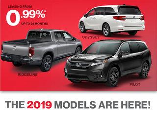2019 Models - Trucks