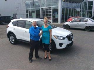 Nouvelle auto pour la famille de Prestige Mazda à Shawinigan