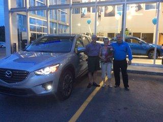 Pour notre 53 ans de mariage! de Prestige Mazda à Shawinigan