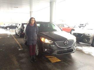 Mon nouveau CX-5 de Prestige Mazda à Shawinigan