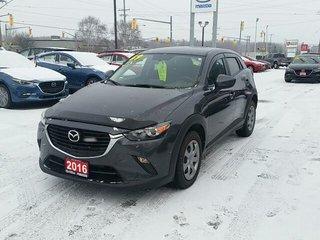 2016 Mazda CX-3 ***NEW PRICE***B/UP CAMERA-CLEAN CARPROOF