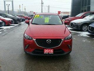 2016 Mazda CX-3 AWD-SKYACTIV-HEATED SEATS-ROOF-B/UP CAMERA
