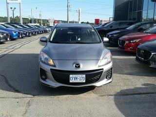 2013 Mazda Mazda3 SKYACTIV-LEATHER-ROOF-HEATED SEATS