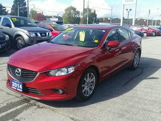 2014 Mazda Mazda6 SKYACTIV-ROOF-HEATED SEATS-B/UP CAMERA