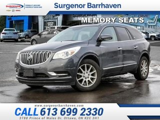 2014 Buick Enclave Leather  - Bluetooth -  Leather Seats - $124.98 B/W