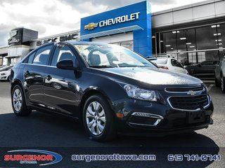 Chevrolet Cruze LT Turbo  - Bluetooth -  SiriusXM - $98.41 B/W 2015