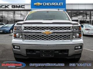 2015 Chevrolet Silverado 1500 Crew 4x4 LT / Short Box  - $205.03 B/W