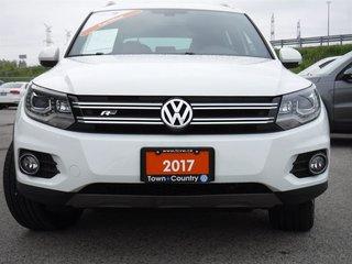 2017 Volkswagen Tiguan Highline 2.0T 6sp at w/ Tip 4M