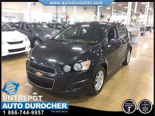 Chevrolet Sonic LT AUTOMATIQUE TOUT ÉQUIPÉ AIR CLIMATISÉ 2013