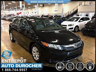 Honda Civic Sdn LX AUTOMATIQUE TOUT ÉQUIPÉ JANTES BLUETOOTH 2012