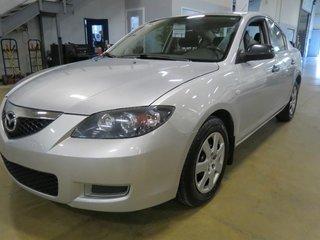 2007 Mazda Mazda3 GX (A/C, Financing Available)