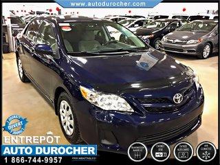 Toyota Corolla CE AIR CLIMATISÉ FINANCEMENT DISPONIBLE 2012