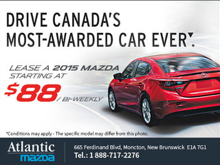 Mazda's Unlimited Sales Event is now on!