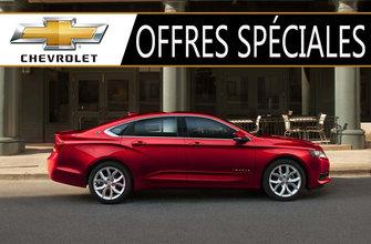 Promotions Chevrolet