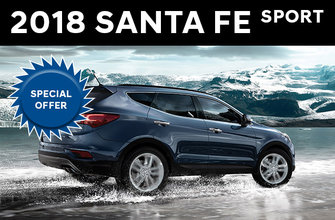 2018 Santa Fe Sport 2.4L AWD and 2.4l Luxury AWD