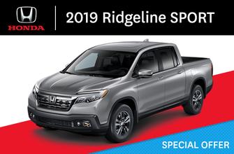 2019 Honda Ridgeline SPORT Automatic