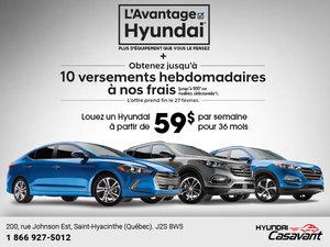 L'avantage Hyundai 2017
