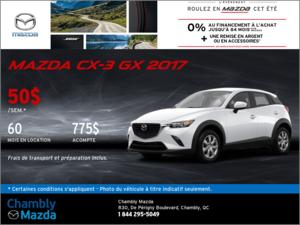La Mazda CX-3 GX 2017
