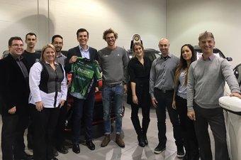 Chambly KIA supporte Antoine Duchesne