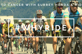 Support Ride2Survive with #WhyRide