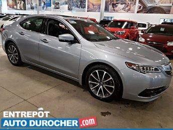 2015 Acura TLX V6 Tech NAVIGATION - Toit Ouvrant - Cuir - A/C -