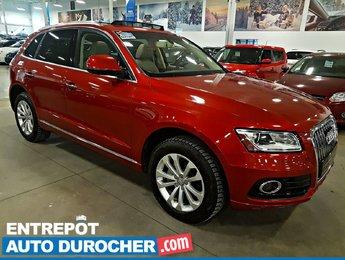 2015 Audi Q5 2.0T Progressiv 4X4 TOIT OUVRANT - A/C - Cuir