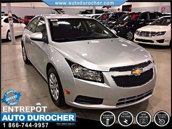 Chevrolet Cruze LT Turbo w/1SA AUTOMATIQUE TOUT ÉQUIPÉ 2011