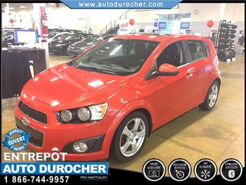 Chevrolet Sonic LT AUTOMATIQUE TOUT ÉQUIPÉ TOIT OUVRANT 2012