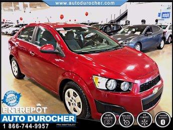 2012 Chevrolet Sonic LT AUTOMATIQUE TOUT ÉQUIPÉ AIR CLIMATISÉ BLUETOOTH