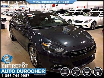 2014 Dodge Dart GT AUTOMATIQUE, NAVIGATION, CUIR, TOIT OUVRANT
