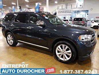 Durango 2013 Dodge Crew+ 4X4 - NAVIGATION - Toit Ouvrant - Cuir - DVD