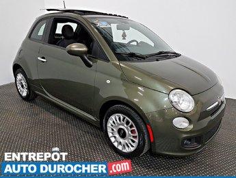 2012 Fiat 500 Sport TOIT OUVRANT - A/C - Automatique - Cuir