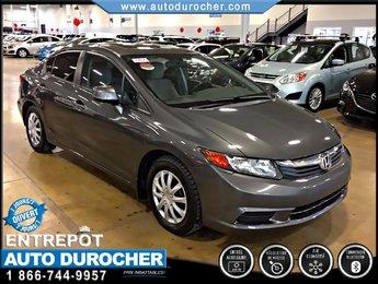 Honda Civic Sdn EX TOUT ÉQUIPÉ TOIT OUVRANT JANTES 2012
