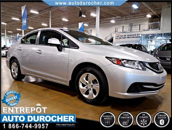 Honda Civic Sdn LX - AIR CLIMATISÉ 2013