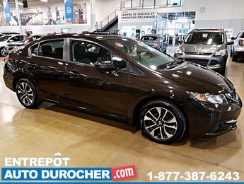 2014 Honda Civic Sedan EX - Automatique - TOIT OUVRANT - A/C - Caméra