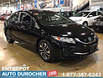 2014 Honda Civic Sedan EX - TOIT OUVRANT - A/C - SIÈGES CHAUFFANTS