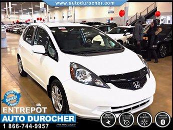 2013 Honda Fit LX TOUT ÉQUIPÉ ÉCONOMIQUE BLUETOOTH