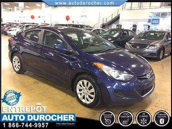 Hyundai Elantra GL TOUT ÉQUIPÉ BLUETOOTH SIÈGES CHAUFFANTS 2012