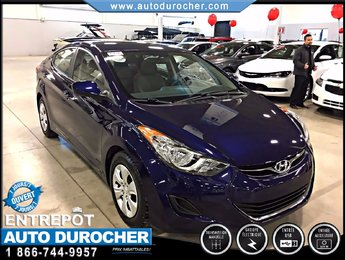 Hyundai Elantra L FINANCEMENT DISPONIBLE BAS KILOMÈTRAGE 2013